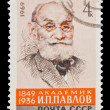USSR - CIRCA 1969: A stamp printed in the USSR, shows I.P.Pavlov 1849-1936, circa 1969 — Lizenzfreies Foto