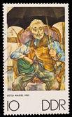 FEDERAL REPUBLIC OF GERMANY - CIRCA 1970: A stamp printed in the Federal Republic of Germany shows Otto Nagel 1935, circa 1970 — Stock Photo