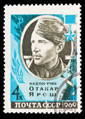 USSR - CIRCA 1969: A stamp printed in the USSR, shows Otakar Jaros — Stock Photo