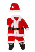 Suit of Santa-klause for newborn — Stock Photo