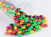 Multi-colored dragee — Stock Photo