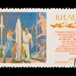 USSR - CIRCA 1970: A stamp printed in the USSR, shows V.I. Lenin, circa 1970 — Stock Photo