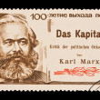 USSR - CIRCA 1967: A stamp printed in the USSR, shows Karl Marx,   circa 1967 — Lizenzfreies Foto