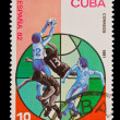 CUBA - CIRCA 1981: A stamp printed in the CUBA, shows Correos,  circa 1981 — Stock Photo