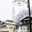 Kirhberg, Austria, Tirol. Pfarrkirche — Stock Photo