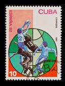 CUBA - CIRCA 1981: A stamp printed in the CUBA, shows Correos, circa 1981 — Stock fotografie