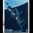CUBA - CIRCA 1976: A stamp printed in the CUBA, shows correos 1976,  circa 1976 — Stock Photo