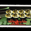 MONGOLIA - CIRCA 1977: A stamp printed in the MONGOLIA, shows spaceshipl,  circa 1977 — Stock Photo