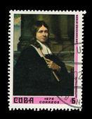 CUBA - CIRCA 1976: A stamp printed in the CUBA, shows correos 1976 autoraetato jan havickez steen, circa 1976 — Stock Photo