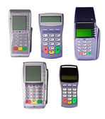 Payment terminals — Stock Photo