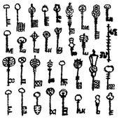 Set of keys — Stock Photo
