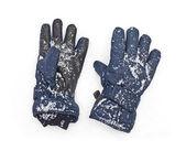 Niebieskie rękawice — Zdjęcie stockowe