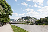 Salzburg, city panorama — Stock Photo
