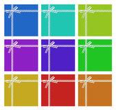 Conjunto de tarjetas — Foto de Stock