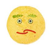 Face pancake — Stock Photo