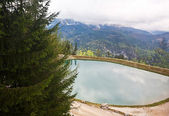 View of the Watzmann in Bavarian Alps — Stock Photo