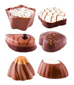 Chocolats avec une farce — Photo