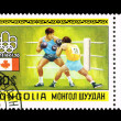 MONGOLIA - CIRCA 1976, Summer Olympics — Stock Photo
