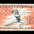 Stock Photo: CZECHOSLOVAKI- CIRCA, Olympics Games