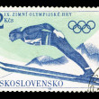 CZECHOSLOVAKIA - CIRCA, Olympics Games — Stock Photo