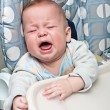 Kid cries — Stock Photo