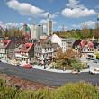 Miniland at Legoland Deutschland Resort — Stockfoto