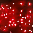 Red abstract christmas background — Stock fotografie
