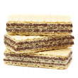 Chocolate wafers — Stock Photo