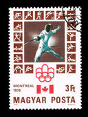 HUNGARY - CIRCA 1976, Summer Olympics — Stock Photo
