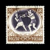 POLAND - CIRCA, Summer Olympics — Stock Photo