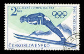 CZECHOSLOVAKIA - CIRCA, Olympics Games — Stock Photo