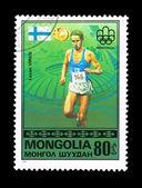 MONGOLIA - CIRCA 1976, Summer Olympics — Stock Photo