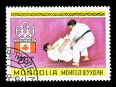 MONGOLIA - CIRCA, Summer Olympics — Stock Photo