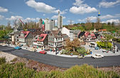 Miniland at Legoland Deutschland Resort — Stock Photo