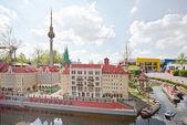Miniland at Legoland Deutschland Resor — Stock Photo