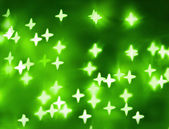 Green abstract christmas background — Stock Photo