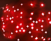 Red abstract christmas background — Stock Photo