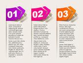 Elementos de diseño realista — Vector de stock