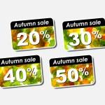 Autumn discount sale — Stock Vector #13514872