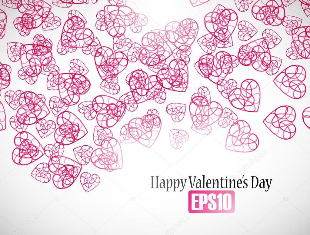 Valentine background — Stock Vector #21012035
