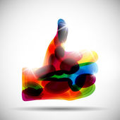 Abstract zoals — Stockvector