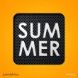 The word summer — Stock Vector #33588479