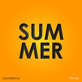 The word summer — Vecteur