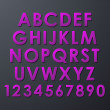 Vector de stock : Alphabet Set