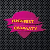 Icon quality — Vecteur