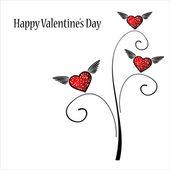 Valentine background — Vector de stock