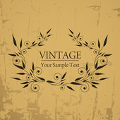 Vintage background — Vetorial Stock