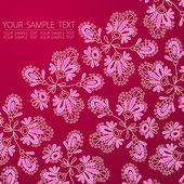Flores vector illustration — Vector de stock
