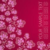 Ilustração do vetor de flores — Vetorial Stock