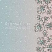 Flowers vector illustration — Stockvektor